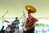 05-03-2015 - Cha Wa Mardi Gras Indian Funk Band - Pensacola Crawfish Fest #43
