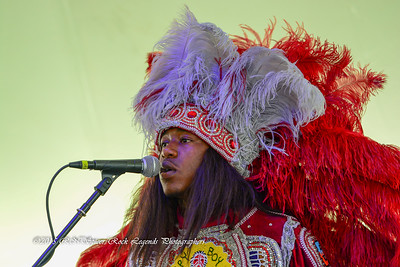 05-03-2015 - Cha Wa Mardi Gras Indian Funk Band - Pensacola Crawfish Fest #34