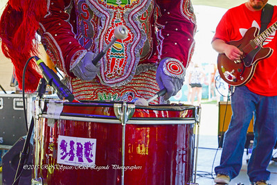 05-03-2015 - Cha Wa Mardi Gras Indian Funk Band - Pensacola Crawfish Fest #29