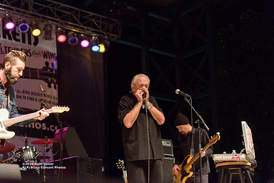 10-08-2016 - Charlie Musselwhite - King Biscuit Blues Festival #4