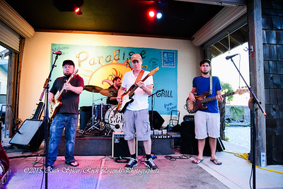 06-17-2015 - Damon Fowler Group with Paxton Norris - Paradise Bar & Grill #2