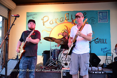 06-17-2015 - Damon Fowler Group with Paxton Norris - Paradise Bar & Grill #3