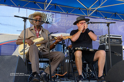 10-07-2016 - Henry Gip Gibson - King Biscuit Blues Festival #4