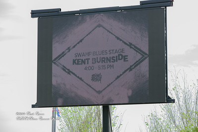 04-09-2016 - Kent Burnside Sign -Baton Rouge Blues Festival #2