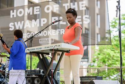 04-09-2016 - James Chicken Scratch Johnson - Baton Rouge Bloues Festival #8