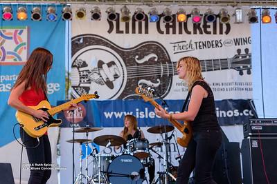 10-08-2016 - Katy Guillen & The Girls - King Biscuit Blues Festival #21