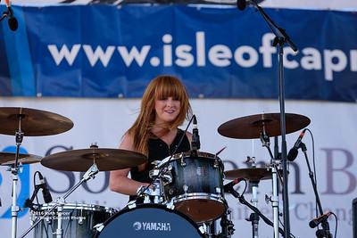 10-08-2016 - Katy Guillen & The Girls - King Biscuit Blues Festival #23