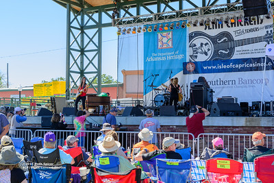 10-08-2016 - Katy Guillen & The Girls - King Biscuit Blues Festival #8
