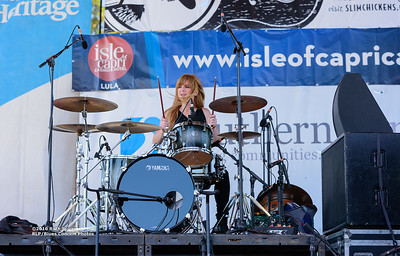 10-08-2016 - Katy Guillen & The Girls - King Biscuit Blues Festival #14