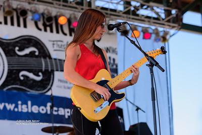 10-08-2016 - Katy Guillen & The Girls - King Biscuit Blues Festival #20
