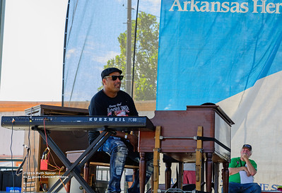 10-07-2016 - Kenny Neal Band - King Biscuit Blues Festival #11