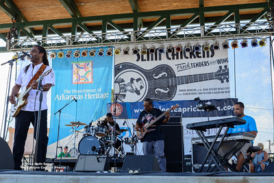 10-07-2016 - Kenny Neal Band - King Biscuit Blues Festival #1