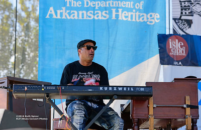 10-07-2016 - Kenny Neal Band - King Biscuit Blues Festival #49