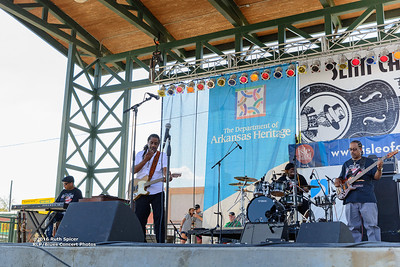 10-07-2016 - Kenny Neal Band - King Biscuit Blues Festival #5