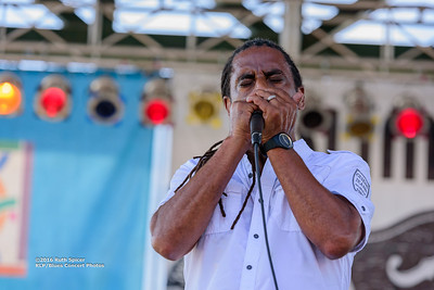 10-07-2016 - Kenny Neal Band - King Biscuit Blues Festival #57