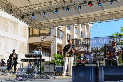 04-10-2016 - Kenny Neal & The Neal Family - Tribute to Raful Neal - Baton Rouge Blues Festival #4
