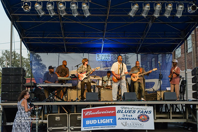 10-07-2016 - Lonnie Shields Band - King Biscuit Blues Festival #12