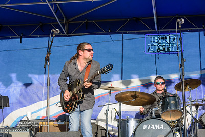 10-08-2016 - Mac Arnold & Plate Full O' Blues - King Biscuit Blues Festival #16