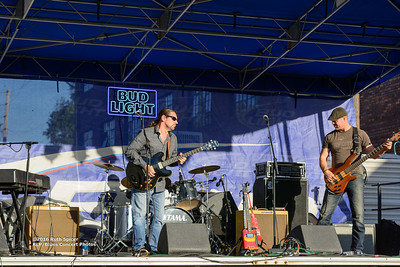 10-08-2016 - Mac Arnold & Plate Full O' Blues - King Biscuit Blues Festival #1