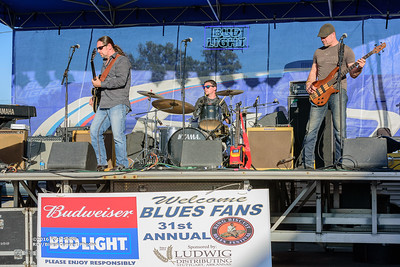 10-08-2016 - Mac Arnold & Plate Full O' Blues - King Biscuit Blues Festival #21