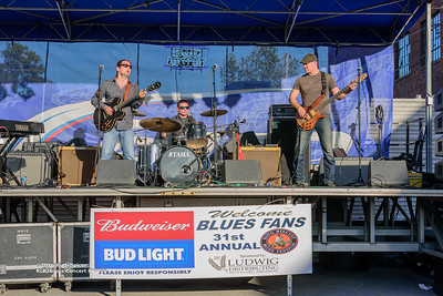 10-08-2016 - Mac Arnold & Plate Full O' Blues - King Biscuit Blues Festival #18