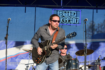 10-08-2016 - Mac Arnold & Plate Full O' Blues - King Biscuit Blues Festival #12