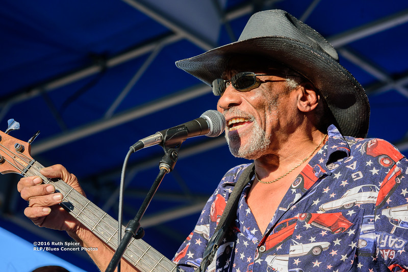 10-08-2016 - Mac Arnold & Plate Full O' Blues - King Biscuit Blues Festival #35