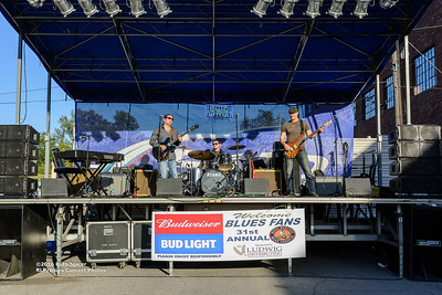 10-08-2016 - Mac Arnold & Plate Full O' Blues - King Biscuit Blues Festival #3