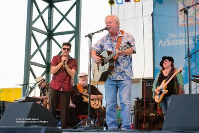 10-05-2016 - Michael Burks Memorial Blues Jam - King Biscuit Blues Festival #11