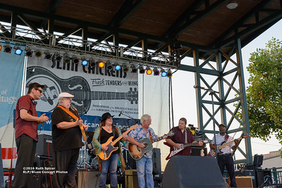 10-05-2016 - Michael Burks Memorial Blues Jam - King Biscuit Blues Festival #1
