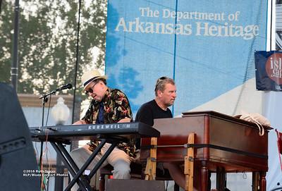 10-05-2016 - Michael Burks Memorial Blues Jam - King Biscuit Blues Festival #3