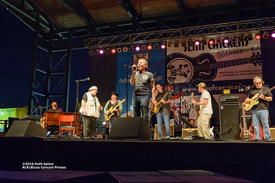 10-05-2016 - Michael Burks Memorial Blues Jam - King Biscuit Blues Festival #22