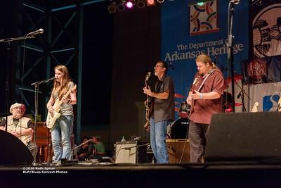 10-05-2016 - Michael Burks Memorial Blues Jam - King Biscuit Blues Festival #32
