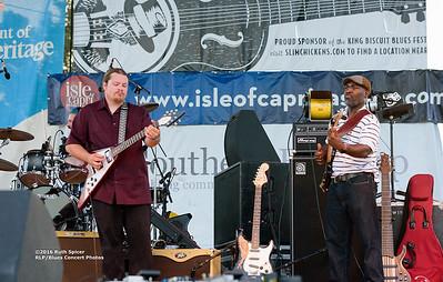 10-05-2016 - Michael Burks Memorial Blues Jam - King Biscuit Blues Festival #12