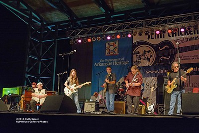 10-05-2016 - Michael Burks Memorial Blues Jam - King Biscuit Blues Festival #26