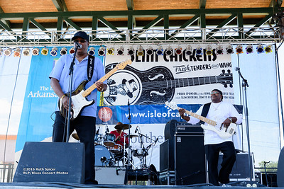 10-07-2016 - Mike Wheeler Band - King Biscuit Blues Festival #1