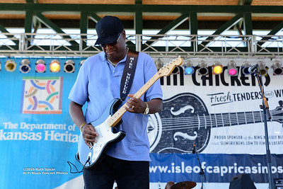 10-07-2016 - Mike Wheeler Band - King Biscuit Blues Festival #5