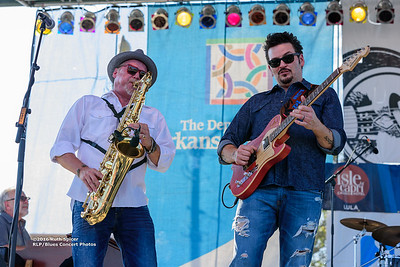 10-07-2016 - Mike Zito & The Wheel - King Biscuit Blues Festival #40