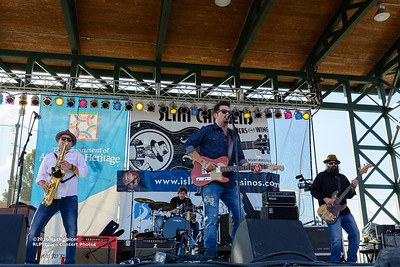 10-07-2016 - Mike Zito & The Wheel - King Biscuit Blues Festival #10