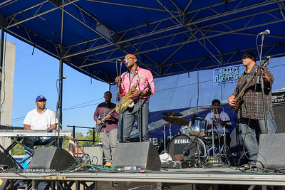 10-08-2016 - Phillip Stackhouse Band - King Biscuit Blues Festival #7