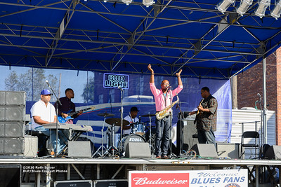 10-08-2016 - Phillip Stackhouse Band - King Biscuit Blues Festival #3