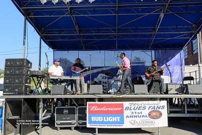 10-08-2016 - Phillip Stackhouse Band - King Biscuit Blues Festival #10