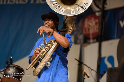 10-07-2016 - Rebirth Brass Band - King Biscuit Blues Festival #14