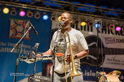 10-07-2016 - Rebirth Brass Band - King Biscuit Blues Festival #16