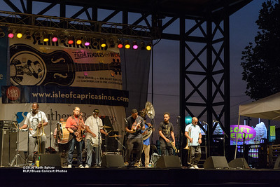 10-07-2016 - Rebirth Brass Band - King Biscuit Blues Festival #2