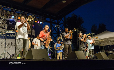 10-07-2016 - Rebirth Brass Band - King Biscuit Blues Festival #9