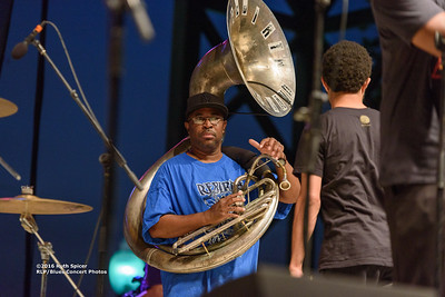 10-07-2016 - Rebirth Brass Band - King Biscuit Blues Festival #20