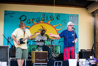 08-06-2015 - The Rockin' Jake Band - Paradise Bar & Grill #1