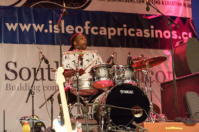 10-08-2016 - Toronzo Cannon - King Biscuit Blues Festival #11