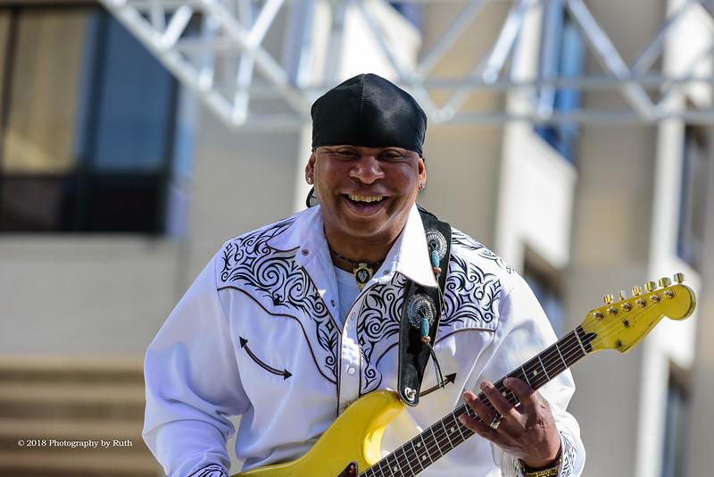 04-15-2018 - Troy Turner Blues Band with Chris LeBlanc - Baton Rouge Blues Festival #71